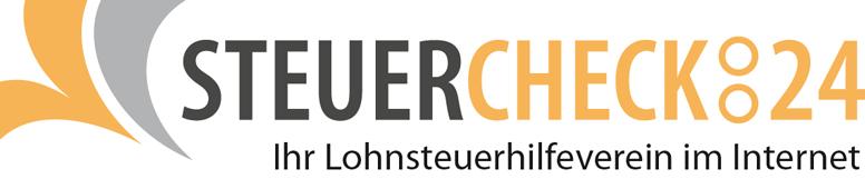 Logo: STEUERCHECK:24 Ihr Lohnsteuerhilfeverein im Internet